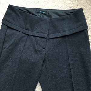 Dark Grey Straight Leg Pants